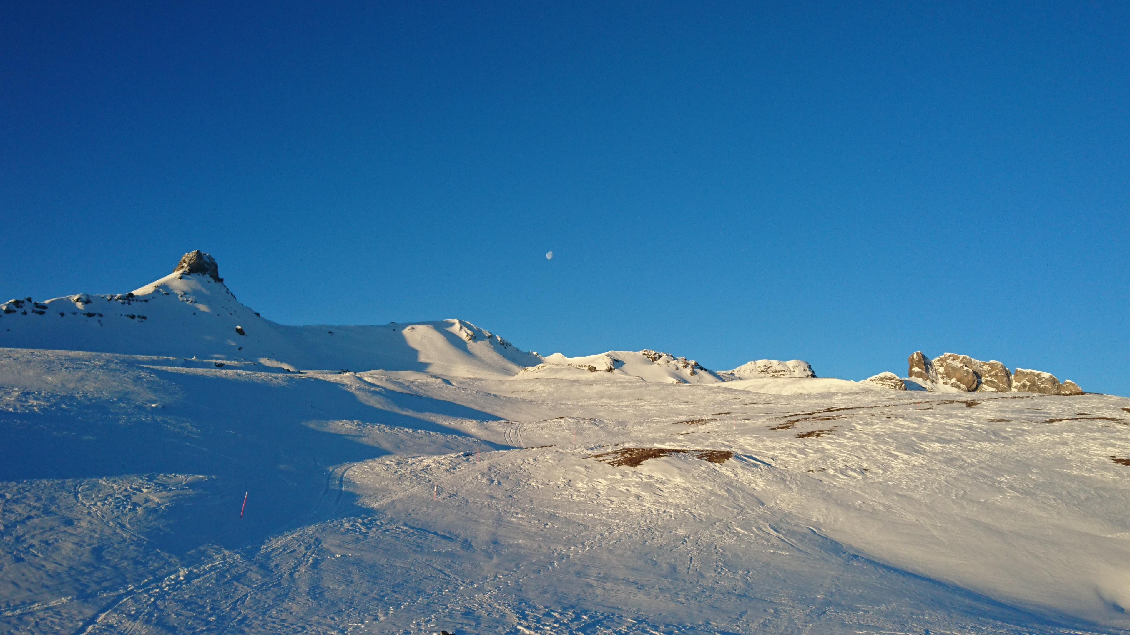 Schneeschuhtour zur Spitzmeilenhütte