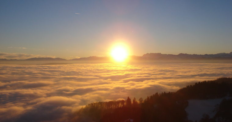 Sonnenaufgang @ Üetliberg