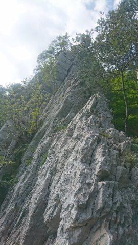 Klettern in Le Paradies
