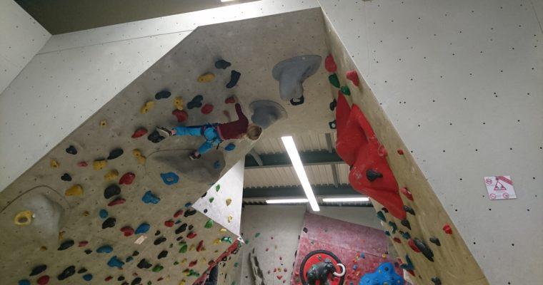 Klettern mit dem Gottimeitli
