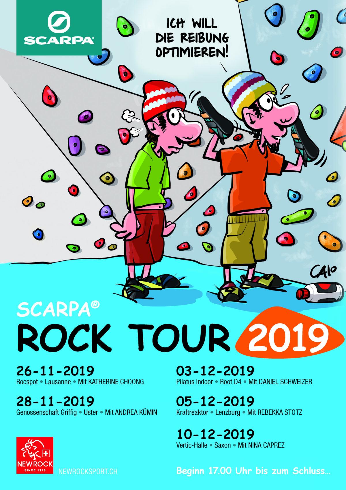 Scarpa Rock Tour
