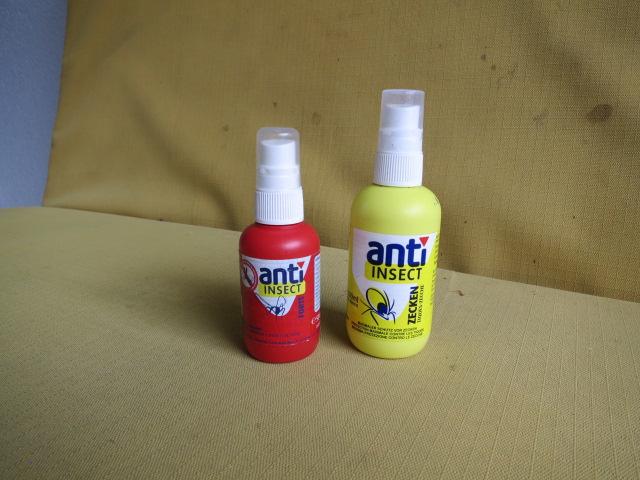 Zecken -und Mückenspray