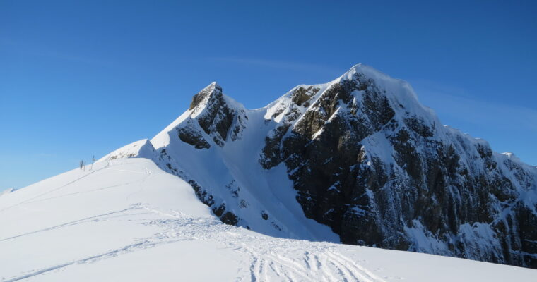 Melchsee-Ski-Rundtour über die Europaleiter