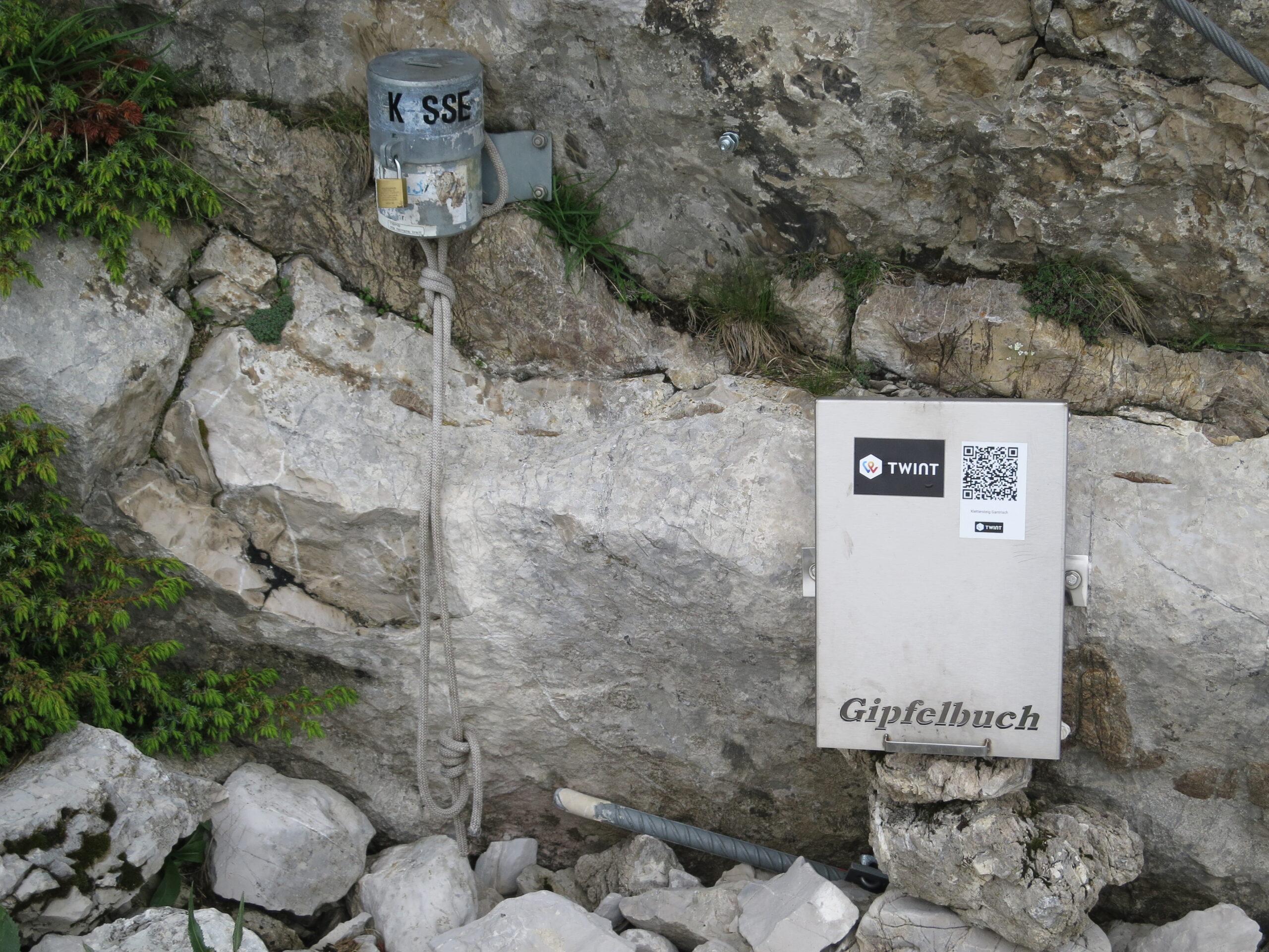 Twint im Klettersteig Gantrisch